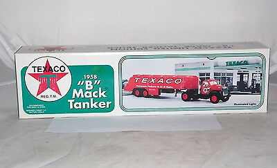 1958 TEXACO B-MACK TANKER TRUCK TOY COIN BANK JMT REPLICA'S Collectible