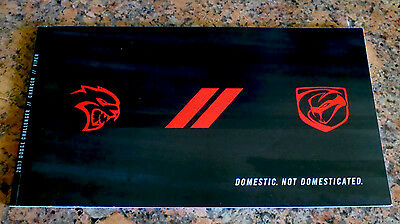 2017 Dodge Challenger Charger Viper Brochure R/t Srt Hellcat T/a Scatpack 76 Pgs