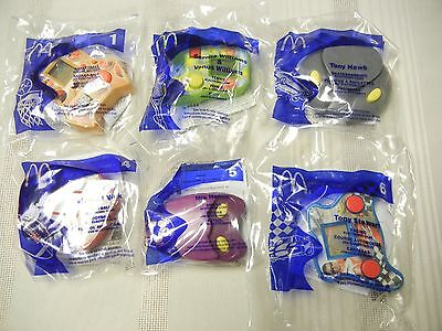 McDONALDS  TOYS - ELECTRONIC GAMES - 2004 - SET OF 6 -  NEW IN PKG.