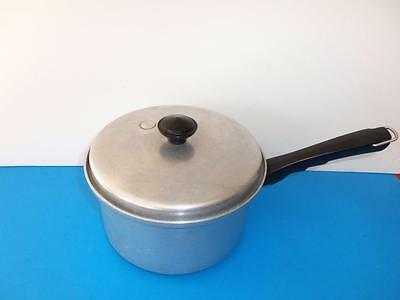 Vintage Vitality By Mirro 3 Quart Sauce Pan With Vented Lid # 1423B  Nice!
