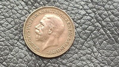 KING GEORGE V FARTHING 1931 coin