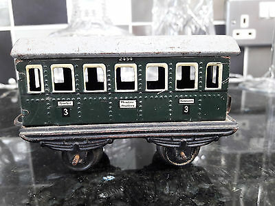 1940's German MODEL RAILWAY CARRIAGE