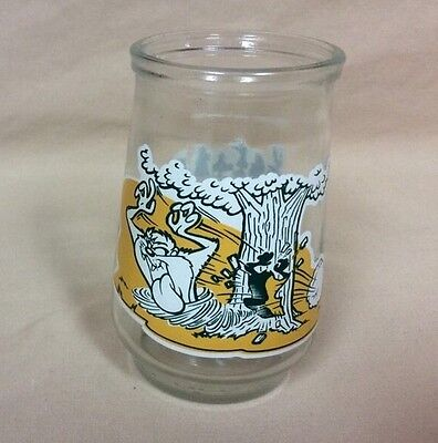 1995 Welch's Looney Tunes Special Edition Jelly Jar Glass #5-Tasmanian Devil