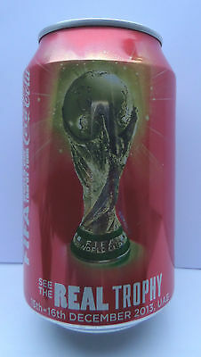 Coca-Cola Dose Can World Cup WM Pokal Tophy 2013 UAE Vereinigte Emirate full