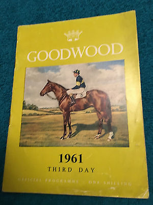 1961 Goodwood Cup won by Predominate