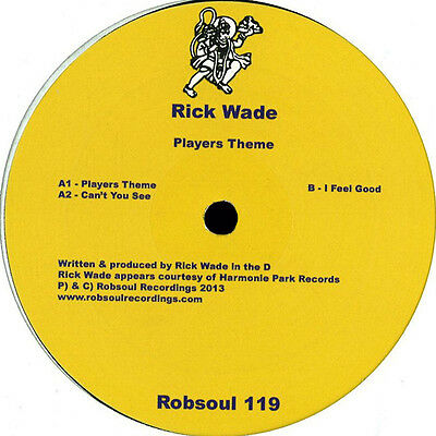 Rick Wade - Players Theme – Robsoul119