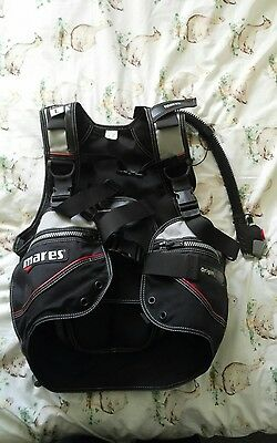 mares origin sport bcd stab jacket large new scuba diving
