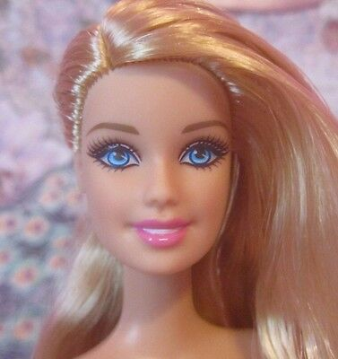 NEW FASHIONISTA Barbie Doll Blonde 2013 Model Muse Type Body, Nude OOAK #2
