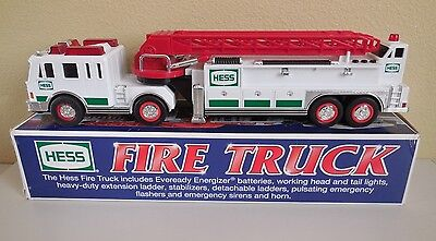 HESS Fire Truck in box Hess Gasoline 2000