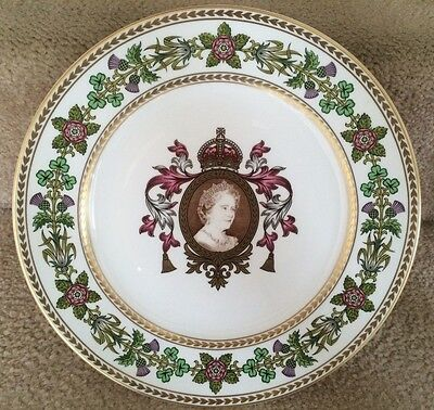 Spode Plate - Collectable - Queen Mother Eightieth Birthday 1980 Limited Edition