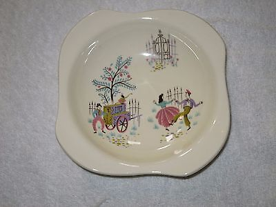 Beswick Dancing Days Dish Vintage 5.75 Inches Diameter Vgc