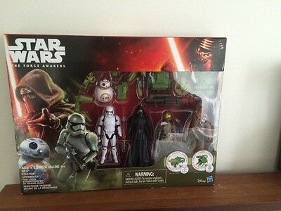Star Wars The Force Awakens Forest Mission Exclusive Action Figure 5 Pack