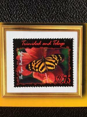 Trinidad Postage Stamp Bookmark Collector Series Butterfly