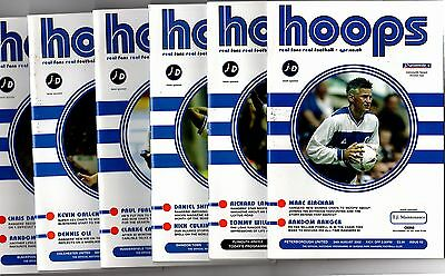 2002-2003 Queens Park Rangers Home Programmes - select one you want POST FREE