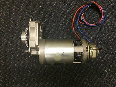 24 Volt Motor Gearbox , Brake High Torque