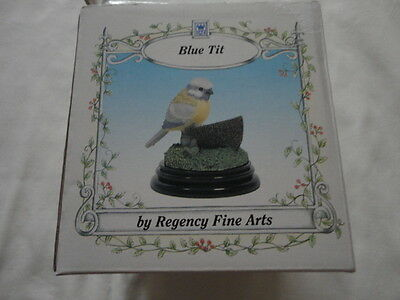 Regency Fine Arts Blue Tit With Tags Boxed