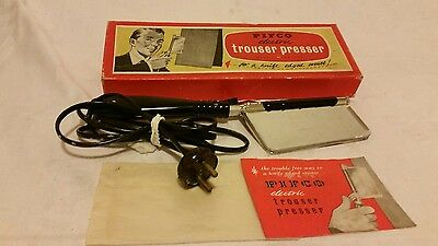 Vintage Boxed PIFCO Hand Held Electric Trouser Press
