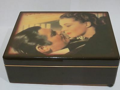 Gone With The Wind   Musical  Box & Certificate