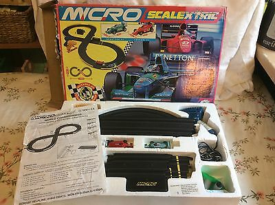 Scalextric World Championship Formula 1 Micro Set Boxed