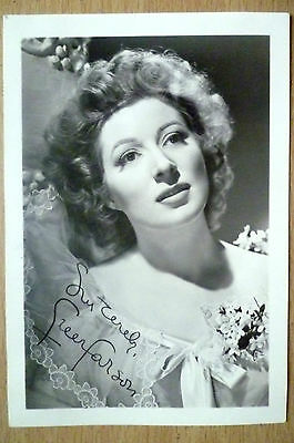 Film Star Real Photograph- GREER GARSON with printed Autograph