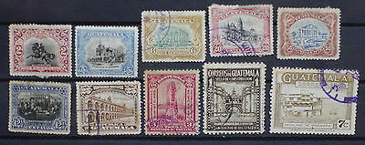 Guatemala Early Lot of Stamps