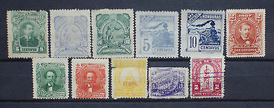 Honduras Early Lot of Stamps