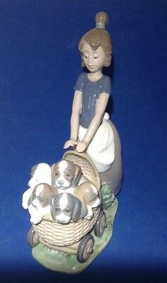 Lladro Collectible #5364 Litter Of Fun