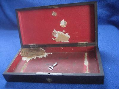 19th Cent keyed WOODEN BOX for Clair Godfroy Aine Flute