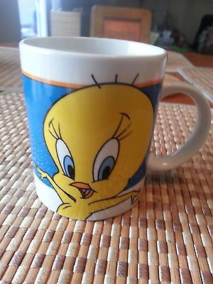 Tweety Bird Coffee Mug Looney Tunes/Warner Bros. 2000 Blue