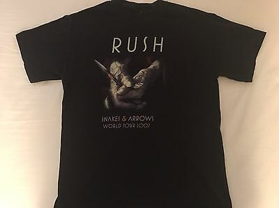 2007 Rush Snakes And Arrows Concert Tour T-Shirt Medium