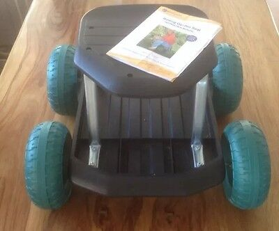 EASYLIFE Rolling Garden Seat EL6532 VGC Hardly Used (inc Instructions)