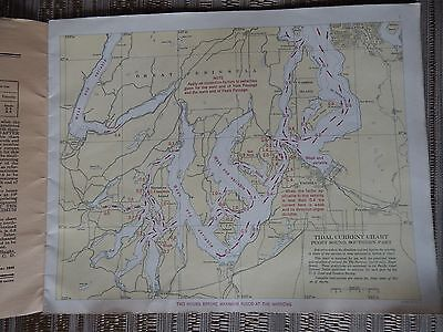 Tidal Current Charts Puget Sound South 1948