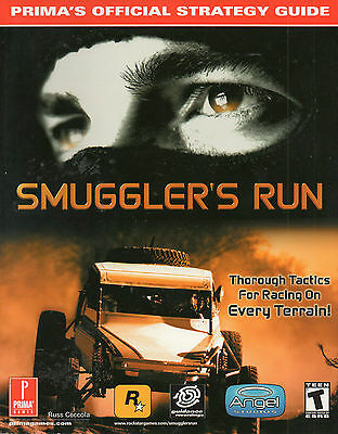 SMUGGLER'S RUN  Official STRATEGY GUIDE Prima Games Playstation2 Tips Tactics