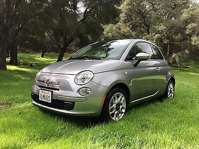 2015 Fiat 500  2015 Fiat 500 Pop Hatchback 2dr (Silver) Low Mileage, great condition!
