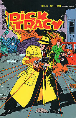 DICK TRACY – Book Three 1990 Graphic Novel / Comic  Illus. by Kyle Baker
