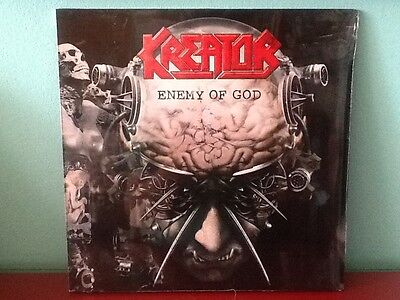 Kreator  Enemy Of God  2Lp Gatefold Cover First Edition New & Sealed