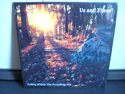 """US & THEM - Fading within the dwindling sun...10"""" colured vinyl...Fruits de Mer"""