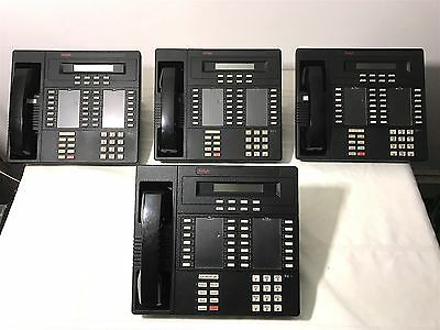 [Lot of 4] AVAYA Lucent AT&T Merlin LEGEND MLX-28D Phones - Perfectly Working
