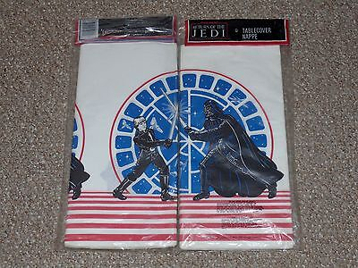 1983 Star Wars ROTJ Return of the Jedi Lot of 2 Table Covers Brand New MIP