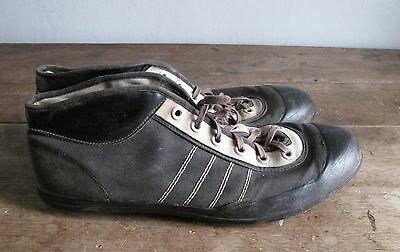 Vintage Men's 1920s Football Sneakers Shoes Cleats - Viking Norway