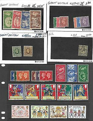 Mint/Used Great Britain Stamp Collection-Nice Selection-No Reserve