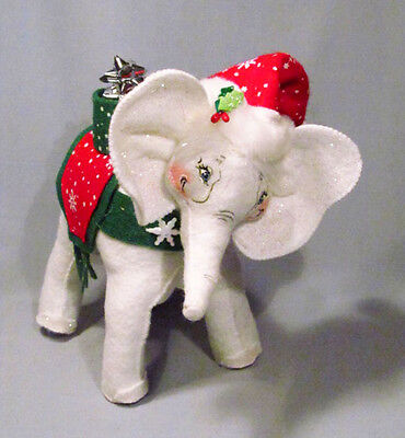 Annalee Mobilitee 2007 Santa Snowflake Elephant Holiday Christmas Doll - NEW