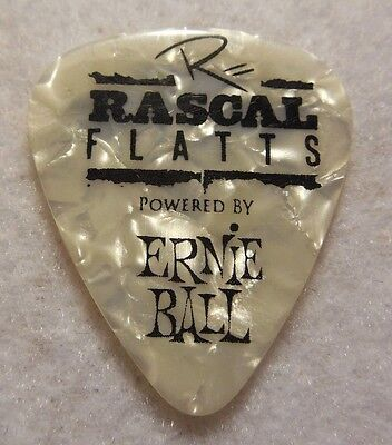 GUITAR PICK Jay DeMarcus - Rascal Flatts 2012 Thaw Out Concert Tour Issue