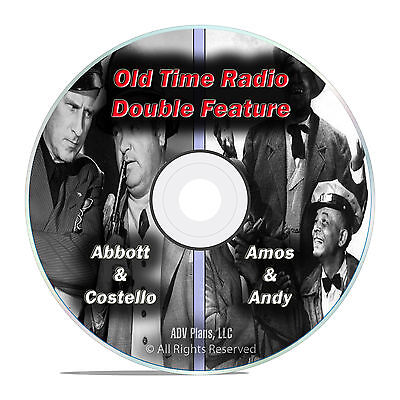Abbott & Costello + Amos & Andy, 707 ALL KNOWN EPISODES, Old Time Radio DVD F76