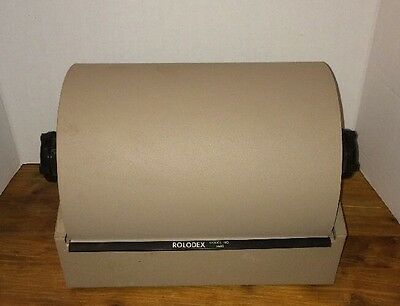 Vintage Rolodex Model 3500 Double Wide Rotary Card File