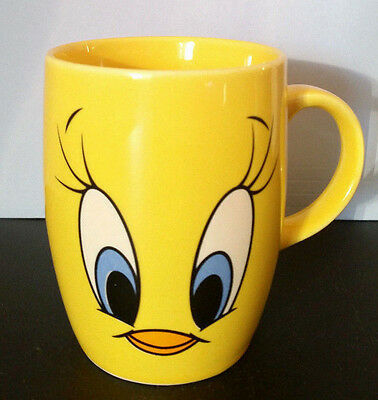 Tweety Bird Mug 1999 Vintage Looney Toons Warner Bros. Artco *VERY RARE*