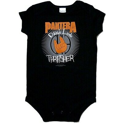 Pantera Daddys Little Thrasher Baby One Piece Bodysuit Infant Romper 0-24 Officl