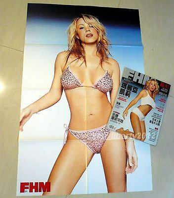 MG - FHM 2001 Taiwan w/HUGE Poster!! Mariah Carey 162-page MINT! infinity