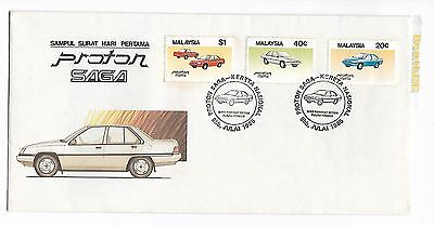 [BLFDC] Malaysia 1985 FDC, PRODUCTION OF PROTON SAGA CAR