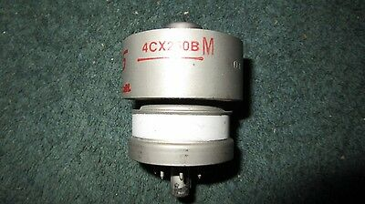 (1) 100% Testing Guaranteed 4CX250B  Ham Radio Tube
